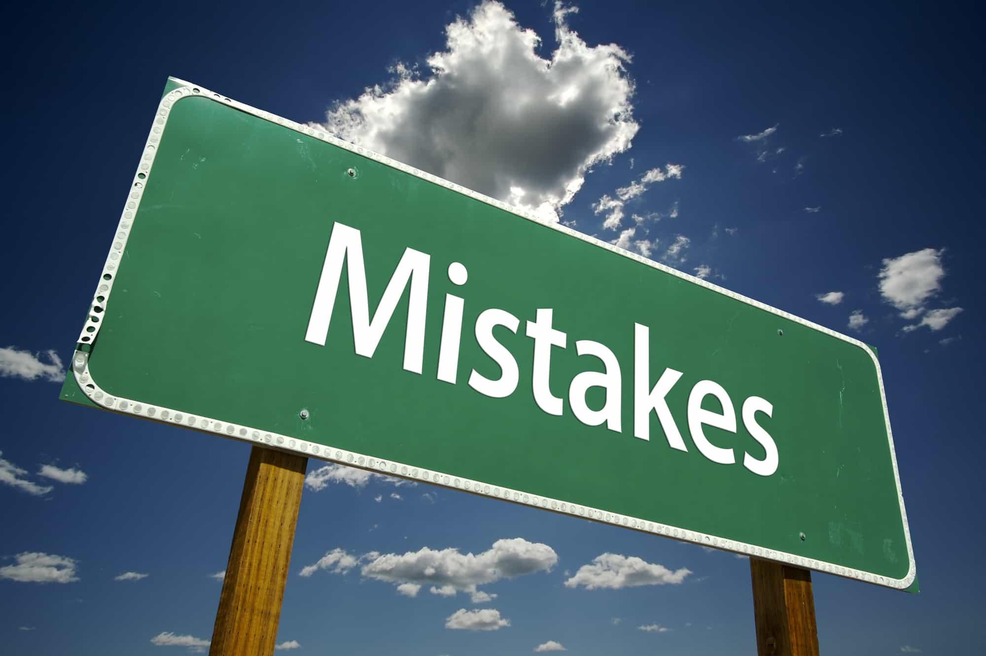 TSP Mistakes